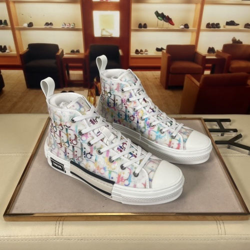 Christian Dior High Tops Shoes For Men #878555