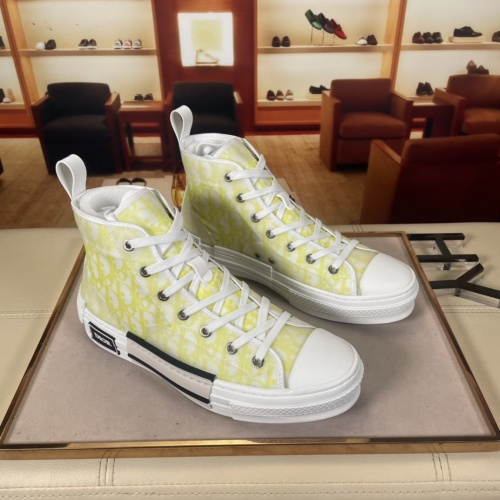 Christian Dior High Tops Shoes For Men #878558