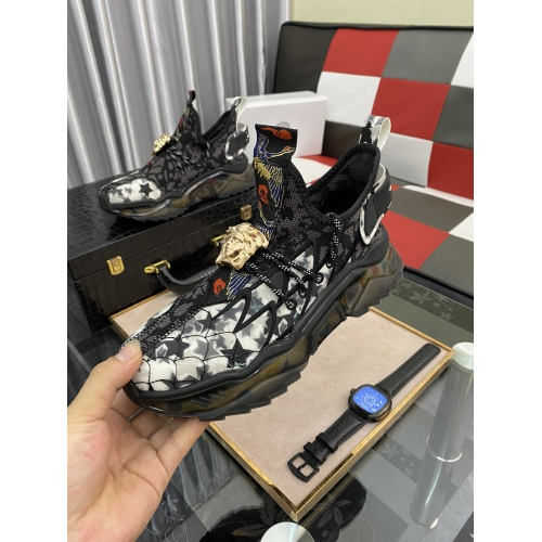 Replica Versace Casual Shoes For Men #878561 $80.00 USD for Wholesale