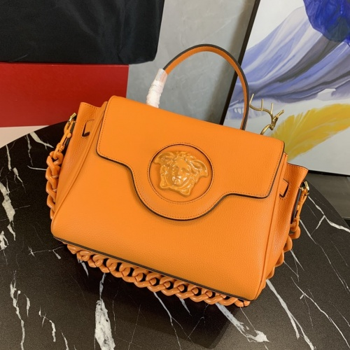 Replica Versace AAA Quality Messenger Bags For Women #878782 $150.00 USD for Wholesale