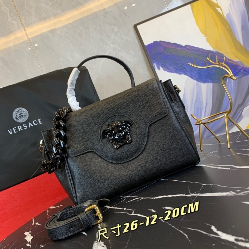 Versace AAA Quality Messenger Bags For Women #878784 $150.00 USD, Wholesale Replica Versace AAA Quality Messenger Bags