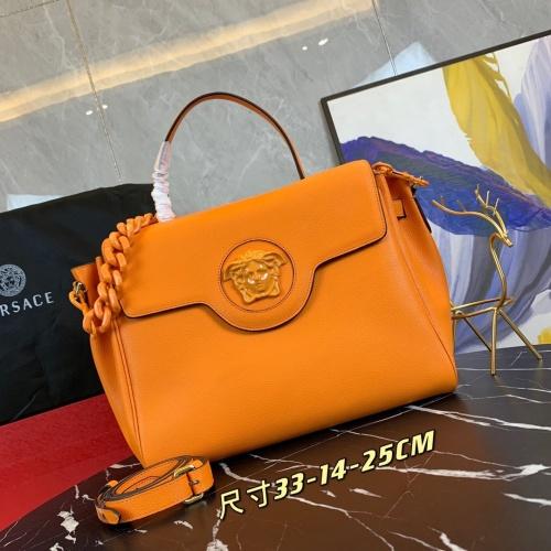 Versace AAA Quality Handbags For Women #878788 $160.00 USD, Wholesale Replica Versace AAA Quality Handbags