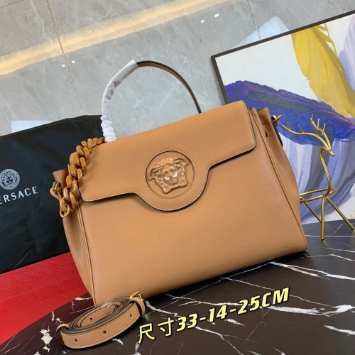 Versace AAA Quality Handbags For Women #878789 $160.00 USD, Wholesale Replica Versace AAA Quality Handbags
