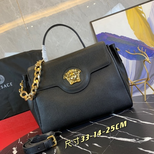 Versace AAA Quality Handbags For Women #878791 $160.00 USD, Wholesale Replica Versace AAA Quality Handbags