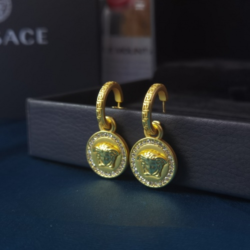 Versace Earrings #879010 $36.00 USD, Wholesale Replica Versace Earrings