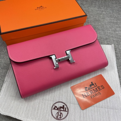 Hermes AAA Quality Wallets For Women #879031 $65.00 USD, Wholesale Replica Hermes AAA Quality Wallets