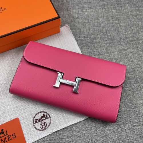 Replica Hermes AAA Quality Wallets For Women #879031 $65.00 USD for Wholesale