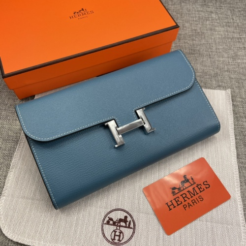 Hermes AAA Quality Wallets For Women #879032 $65.00 USD, Wholesale Replica Hermes AAA Quality Wallets