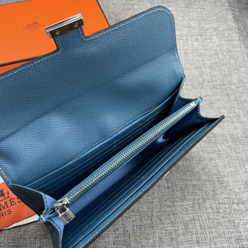 Replica Hermes AAA Quality Wallets For Women #879032 $65.00 USD for Wholesale