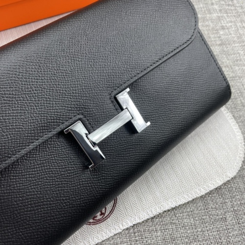 Replica Hermes AAA Quality Wallets For Women #879033 $65.00 USD for Wholesale
