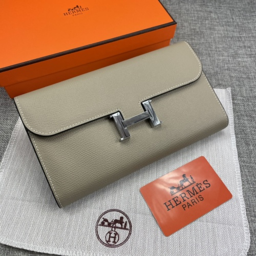 Hermes AAA Quality Wallets For Women #879034 $65.00 USD, Wholesale Replica Hermes AAA Quality Wallets