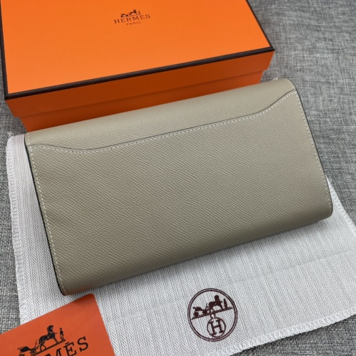 Replica Hermes AAA Quality Wallets For Women #879034 $65.00 USD for Wholesale