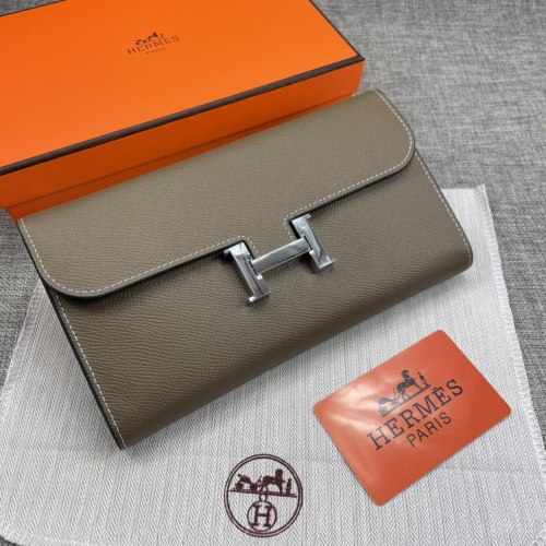 Hermes AAA Quality Wallets For Women #879035 $65.00 USD, Wholesale Replica Hermes AAA Quality Wallets