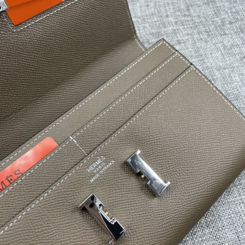 Replica Hermes AAA Quality Wallets For Women #879035 $65.00 USD for Wholesale