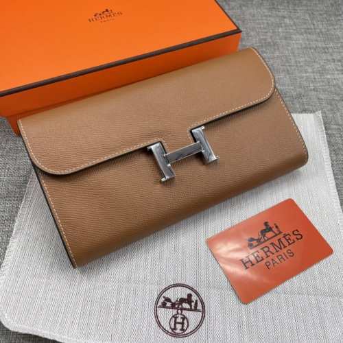 Hermes AAA Quality Wallets For Women #879036 $65.00 USD, Wholesale Replica Hermes AAA Quality Wallets