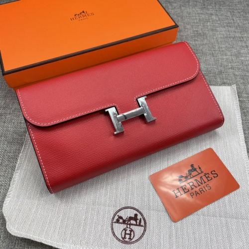 Hermes AAA Quality Wallets For Women #879037 $65.00 USD, Wholesale Replica Hermes AAA Quality Wallets