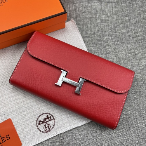 Replica Hermes AAA Quality Wallets For Women #879037 $65.00 USD for Wholesale