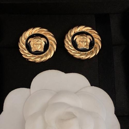 Versace Earrings #879102 $27.00 USD, Wholesale Replica Versace Earrings