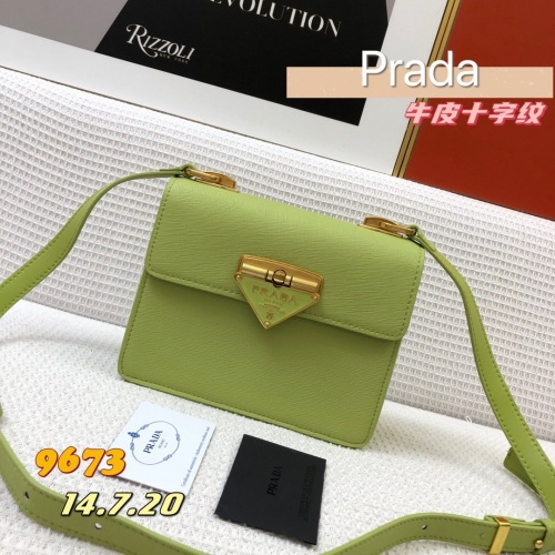 Prada AAA Quality Messeger Bags For Women #879134 $105.00 USD, Wholesale Replica Prada AAA Quality Messeger Bags