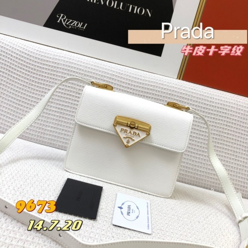 Prada AAA Quality Messeger Bags For Women #879137 $105.00 USD, Wholesale Replica Prada AAA Quality Messeger Bags