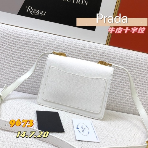 Replica Prada AAA Quality Messeger Bags For Women #879137 $105.00 USD for Wholesale