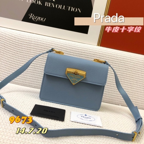Prada AAA Quality Messeger Bags For Women #879138 $105.00 USD, Wholesale Replica Prada AAA Quality Messeger Bags