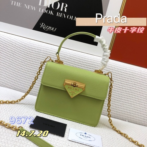Prada AAA Quality Messeger Bags For Women #879143 $108.00 USD, Wholesale Replica Prada AAA Quality Messeger Bags