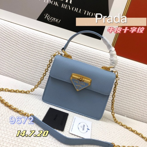 Prada AAA Quality Messeger Bags For Women #879145 $108.00 USD, Wholesale Replica Prada AAA Quality Messeger Bags