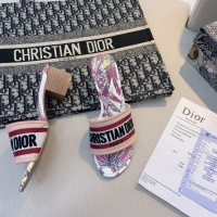 $56.00 USD Christian Dior Slippers For Women #868394