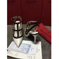 $85.00 USD Valentino High-Heeled Shoes For Women #871442