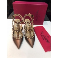 $85.00 USD Valentino High-Heeled Shoes For Women #871445
