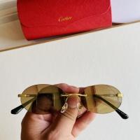 $45.00 USD Cartier AAA Quality Sunglasses #873519