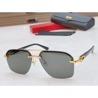 $56.00 USD Cartier AAA Quality Sunglasses #877271