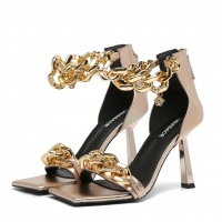 $82.00 USD Versace High-Heeled Shoes For Women #878228