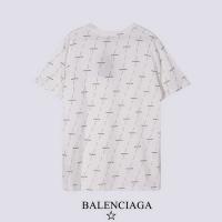 $27.00 USD Balenciaga T-Shirts Short Sleeved For Men #878418