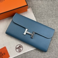 $65.00 USD Hermes AAA Quality Wallets For Women #879032