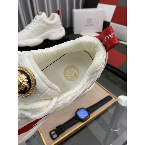 Replica Versace Casual Shoes For Men #879207 $76.00 USD for Wholesale