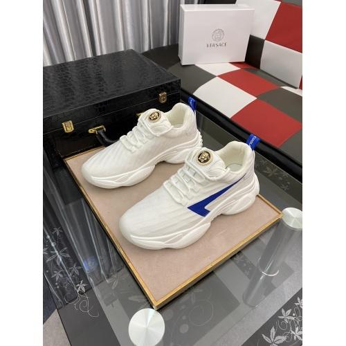 Versace Casual Shoes For Men #879208 $76.00 USD, Wholesale Replica Versace Casual Shoes