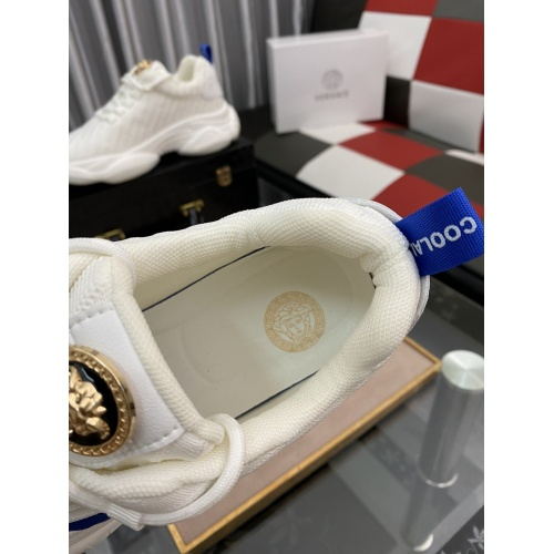 Replica Versace Casual Shoes For Men #879208 $76.00 USD for Wholesale