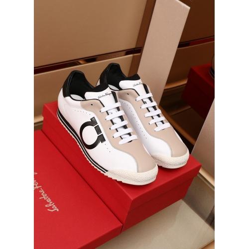 Ferragamo Salvatore FS Casual Shoes For Men #879214