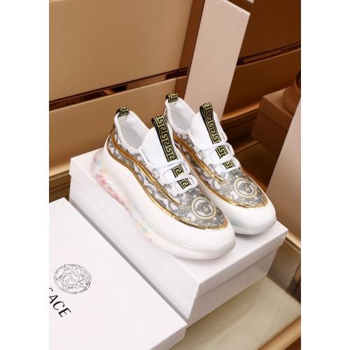 Versace Casual Shoes For Men #879216 $82.00 USD, Wholesale Replica Versace Casual Shoes