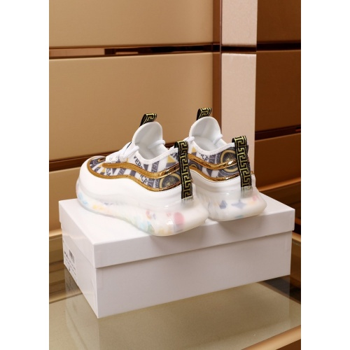 Replica Versace Casual Shoes For Men #879217 $82.00 USD for Wholesale