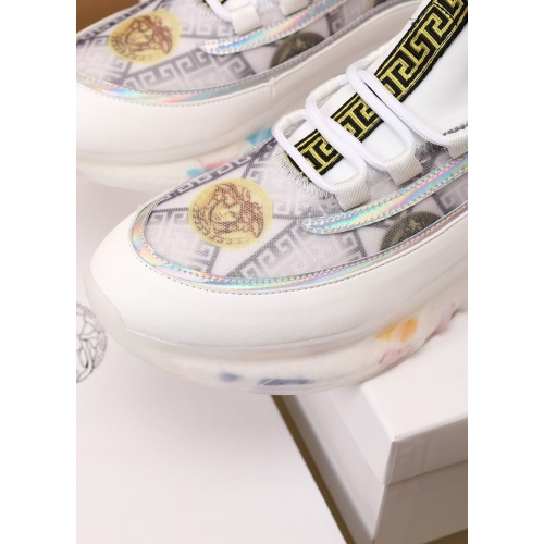 Replica Versace Casual Shoes For Men #879218 $82.00 USD for Wholesale