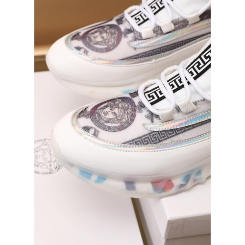 Replica Versace Casual Shoes For Men #879219 $82.00 USD for Wholesale