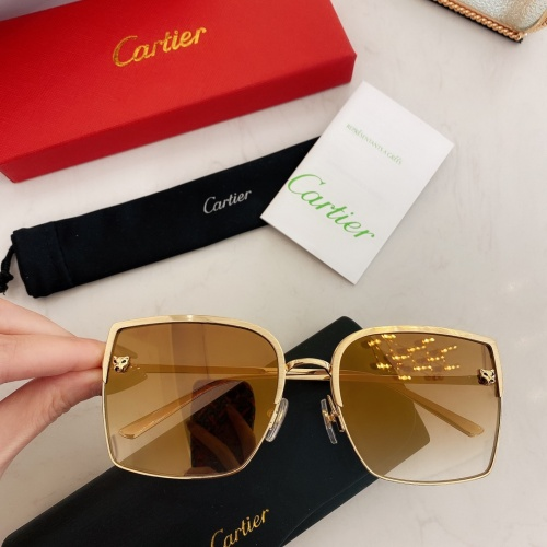 Cartier AAA Quality Sunglasses #879417