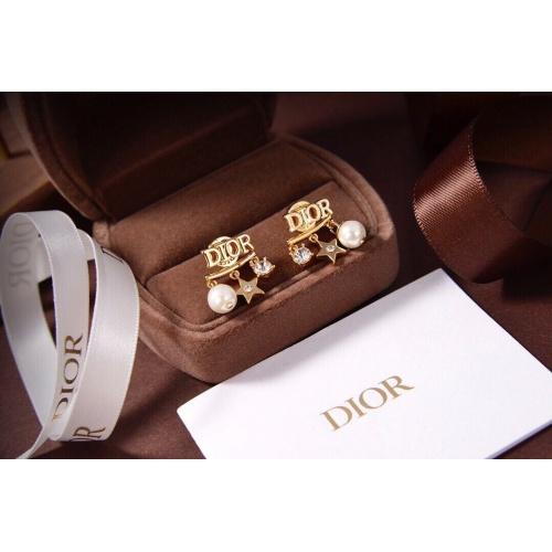 Christian Dior Earrings #879479 $27.00 USD, Wholesale Replica Christian Dior Earrings