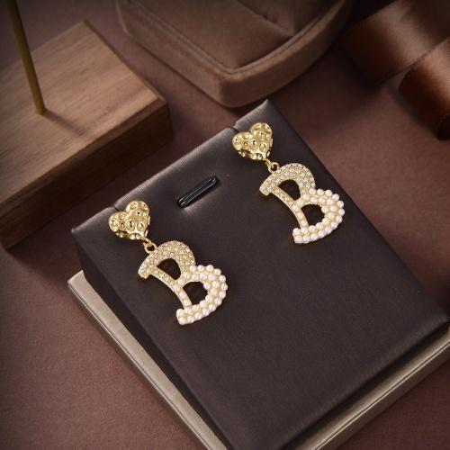 Balenciaga Earring #879499 $32.00 USD, Wholesale Replica Balenciaga Earring