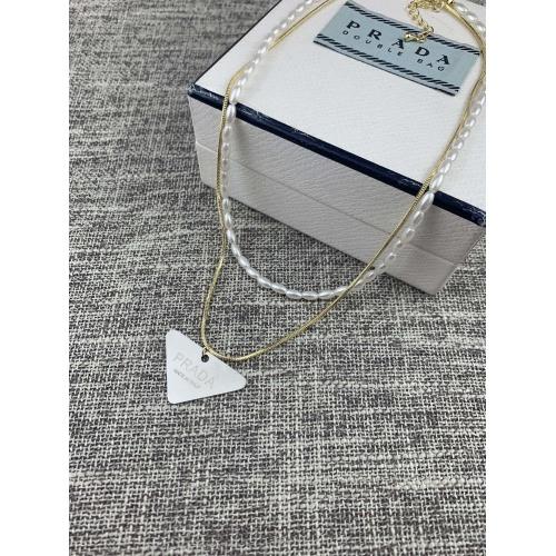 Prada Necklace #879521 $38.00 USD, Wholesale Replica Prada Necklace