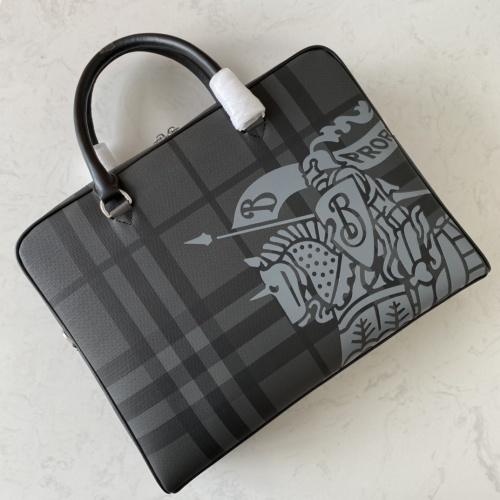 Replica Burberry AAA Man Handbags #879523 $132.00 USD for Wholesale