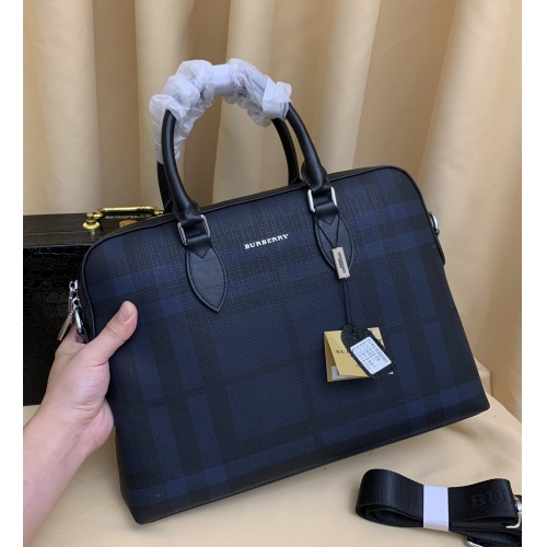 Burberry AAA Man Handbags #879524 $100.00 USD, Wholesale Replica Burberry AAA Man Handbags